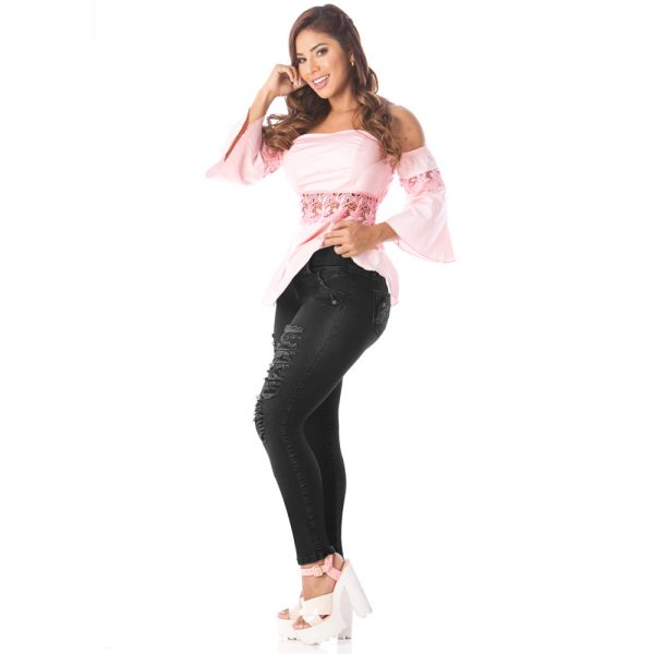 Jeans levanta cola Amatista 5586