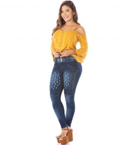 Jeans levanta cola Amatista 5587