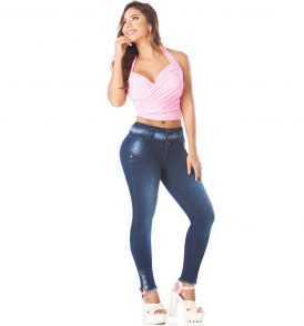 Jeans levanta cola Amatista 5596
