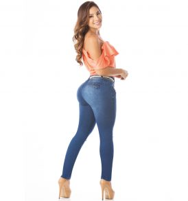 Jeans levanta cola Amatista 5577